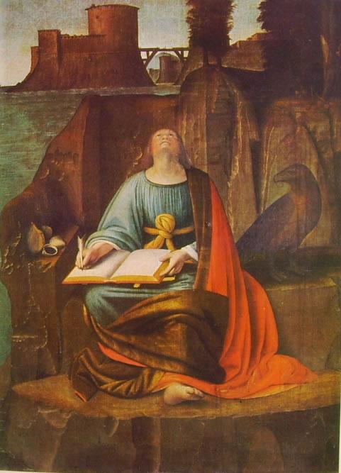 Bramantino: San Giovanni Evangelista a Patmos (Isola Bella)
