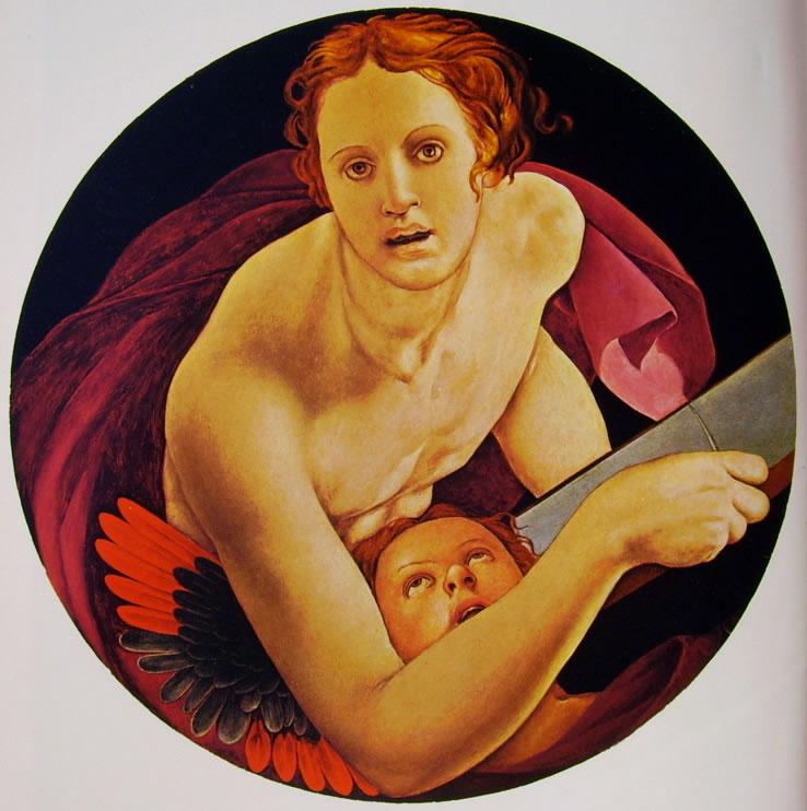 Il Bronzino: Gli Evangelisti di Santa Felicita - San Matteo