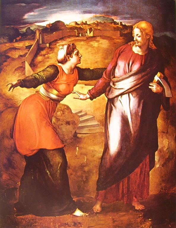 Il Bronzino: Noli me Tangere (Casa Buonarroti)