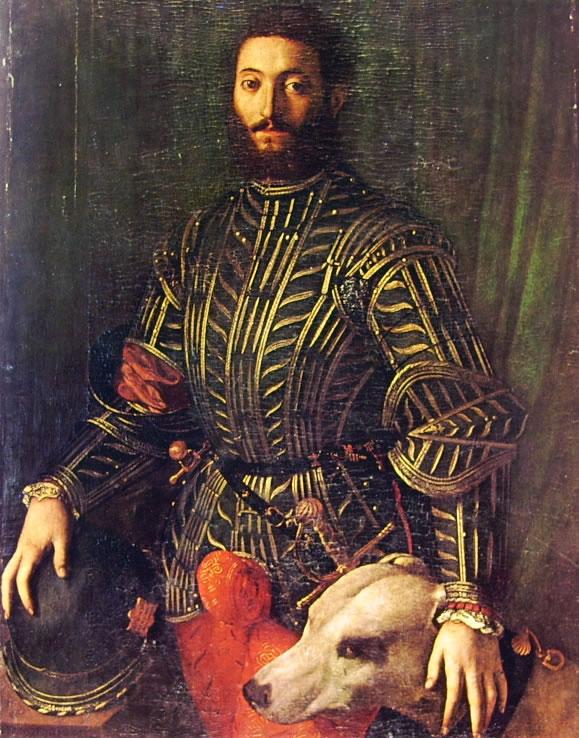 Il Bronzino: Ritratto di Guidobaldo della Rovere