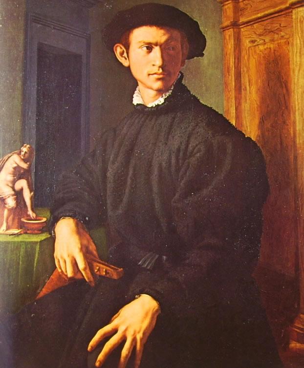 Il Bronzino: Ritratto di giovane con liuto