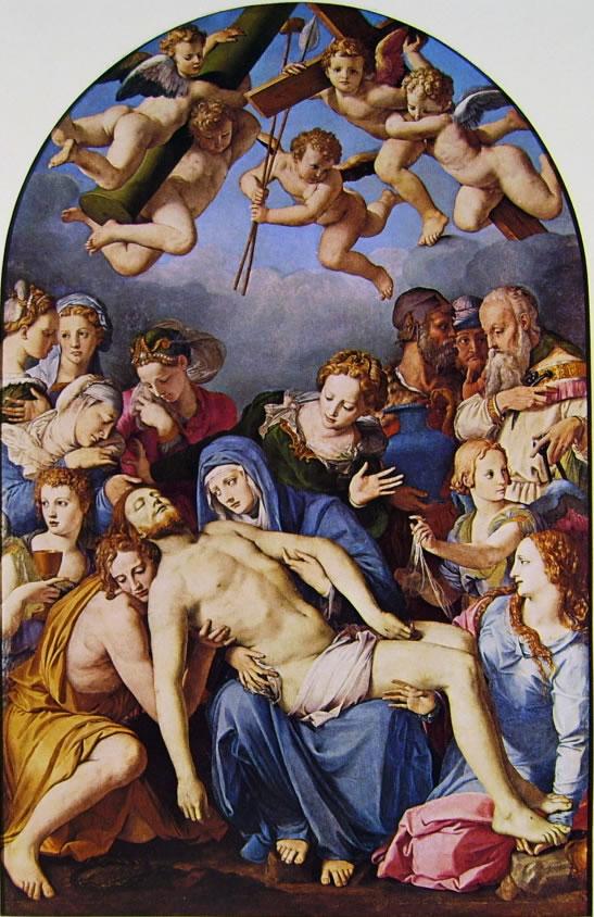 Il Bronzino: La deposizione di Cristo (Besançon)