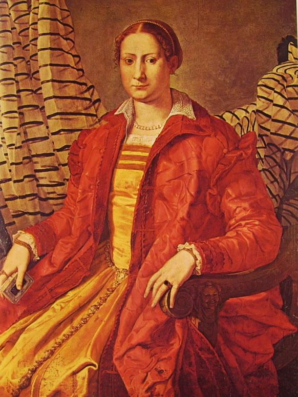 Il Bronzino: Ritratto di gentildonna