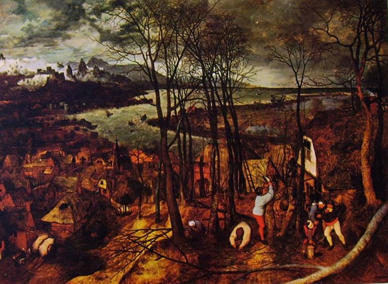 Pieter Bruegel: Giornata buia, o Giornata nuvolosa (Kunsthistorisches Museum)