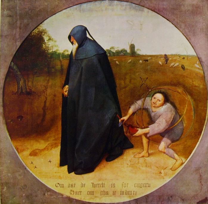 Pieter Bruegel: Il misantropo (Capodimonte)
