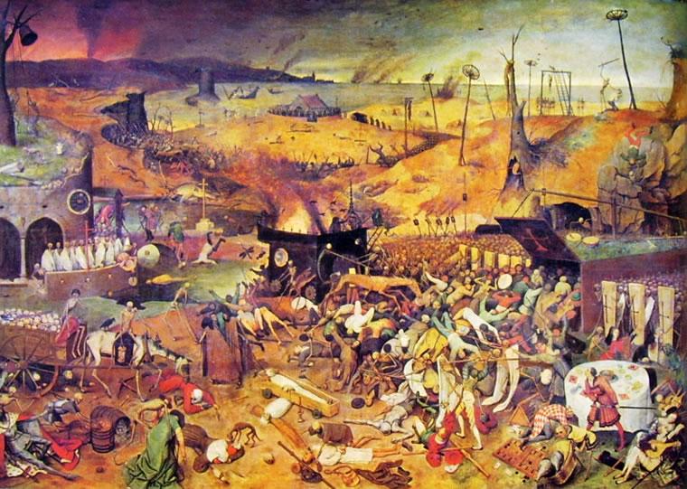 Pieter Bruegel: Il trionfo della morte (Prado)