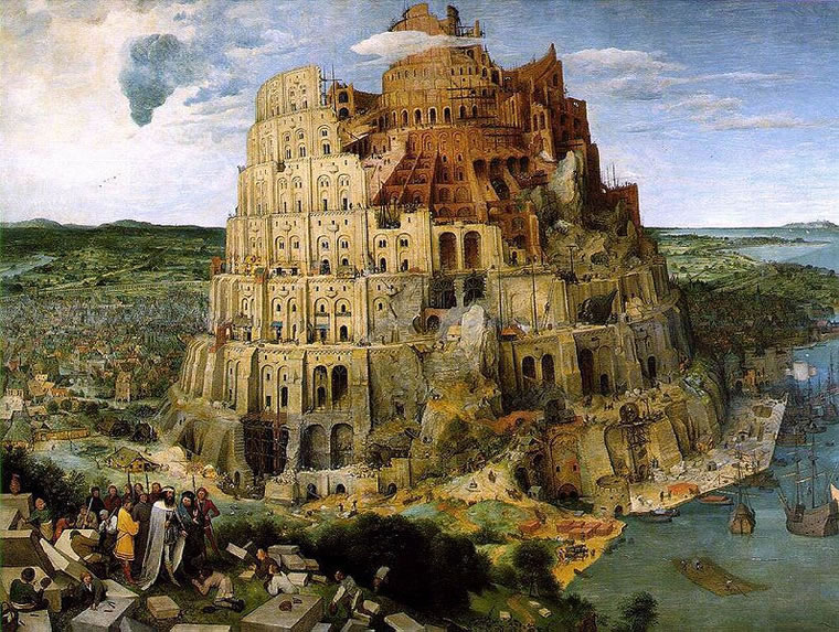 Pieter Bruegel: La grande torre di Babele (Vienna)
