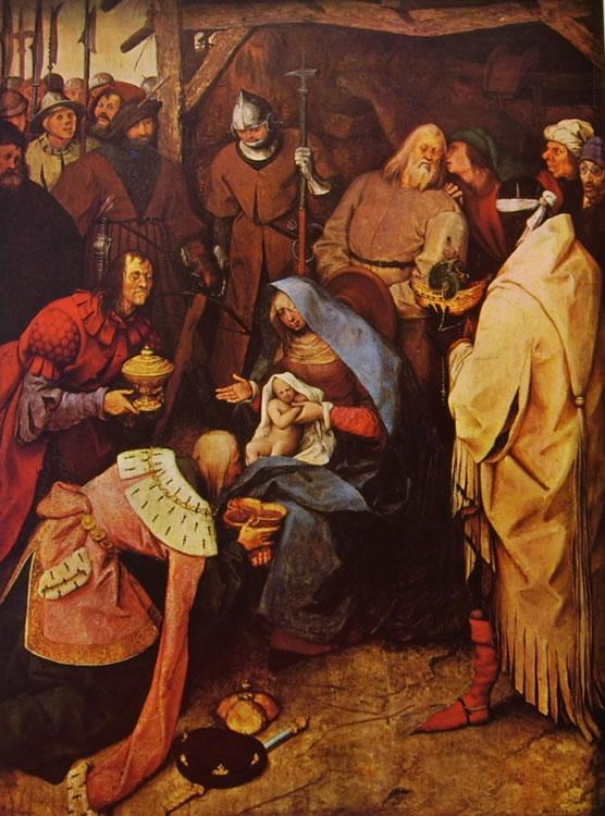 Pieter Bruegel: L'adorazione dei magi