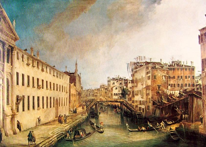 Il Canaletto: Rio dei mendicanti