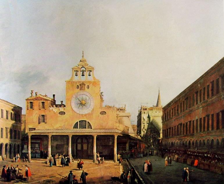 Il Canaletto: Campo San Giacometto