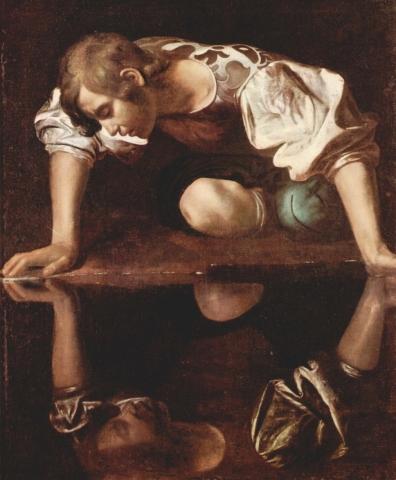 Narciso (Galleria Nazionale) di Caravaggio