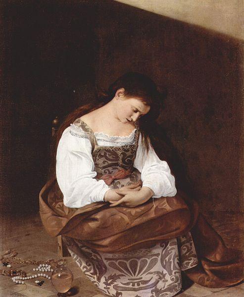Il Caravaggio: La Maddalena (Doria Pamphili)