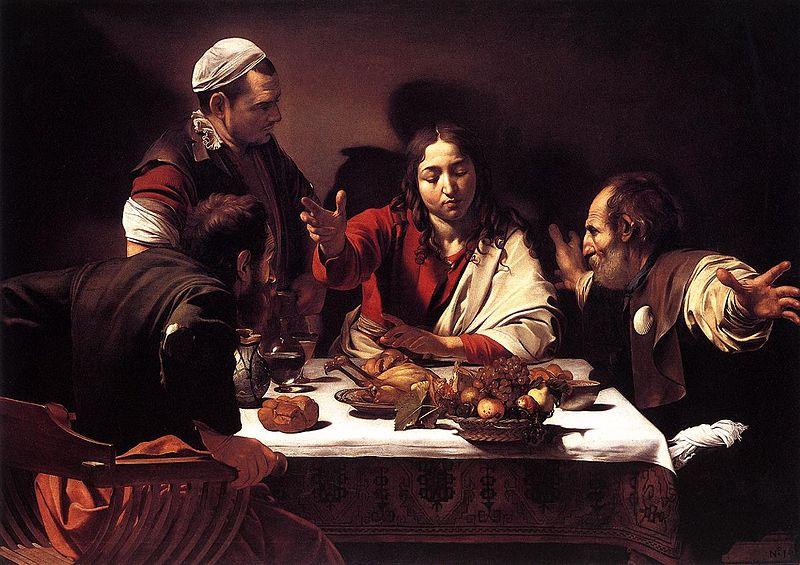 Cena in Emmaus (Londra) di Caravaggio