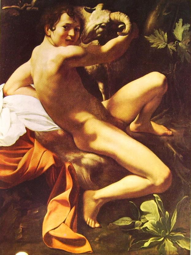 Il Caravaggio: San Giovanni Battista (Musei Capitolini)