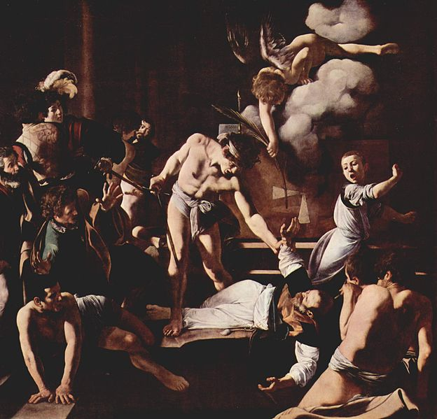 Il martirio di San Matteo (San Luigi dei Francesi) del Caravaggio