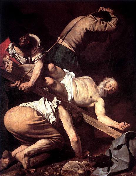 Caravaggio: Crocifissione di San Pietro (Santa Maria del Popolo)