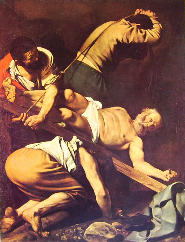 Particolare dei piedi di San Pietro