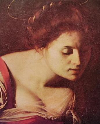 Caravaggio - Particolare della Madonna dei palafrenieri