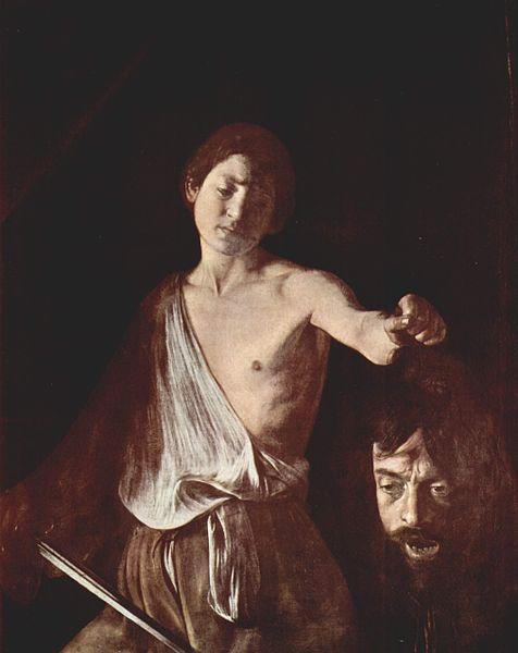 Michelangelo Merisi : Davide con la testa di Golia (Galleria Borghese)