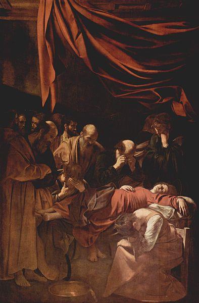 Michelangelo Merisi : Morte della Madonna (Louvre)