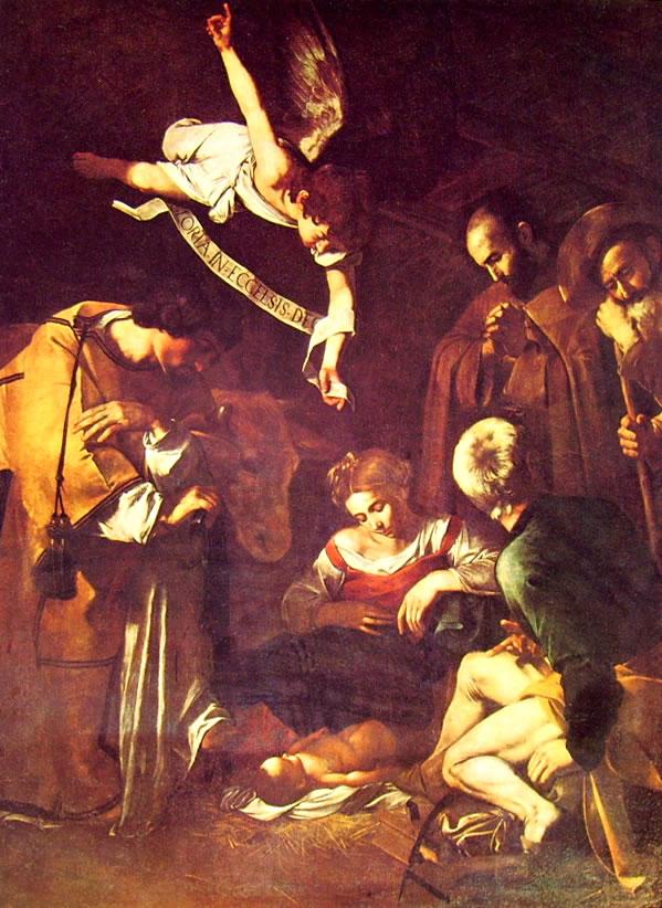 Il Caravaggio: Natività (perduta per furto)