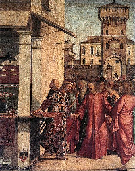 Carpaccio: La vocazione di San Matteo