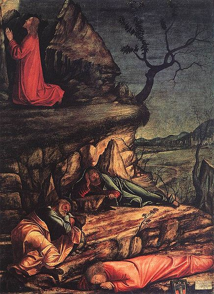 Carpaccio: La preghiera nell'orto (Scuola di San Giorgio)