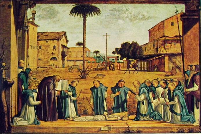 Carpaccio: I funerali di San Gerolamo