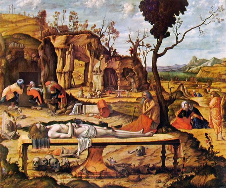 Carpaccio: Compianto su Cristo morto (Berlino)