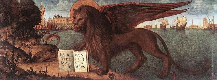 Il leone di San Marco di Carpaccio