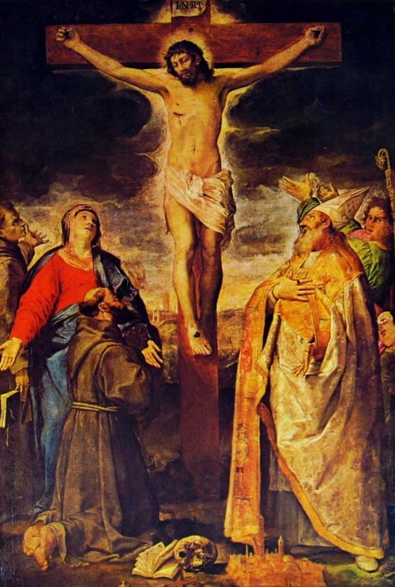 Annibale Carracci: Crocifissione e Santi (Bologna)