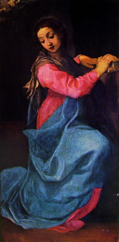 Annibale Carracci: La Vergine annunciata