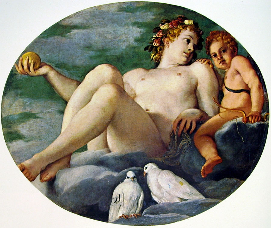 Annibale Carracci: Venere e Cupido