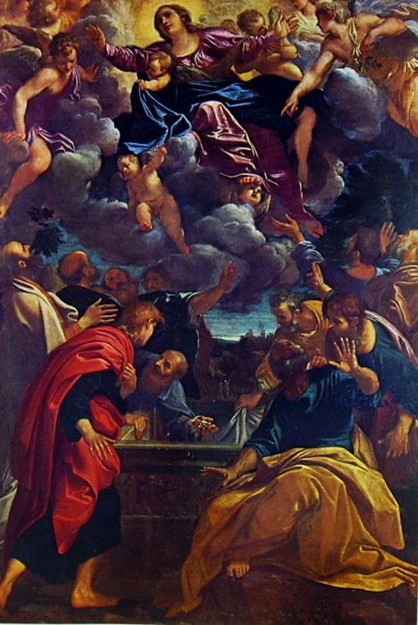 Annibale Carracci: Assunzione della Vergine (Bologna)