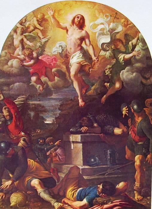 Annibale Carracci: Resurrezione di Cristo (Louvre)