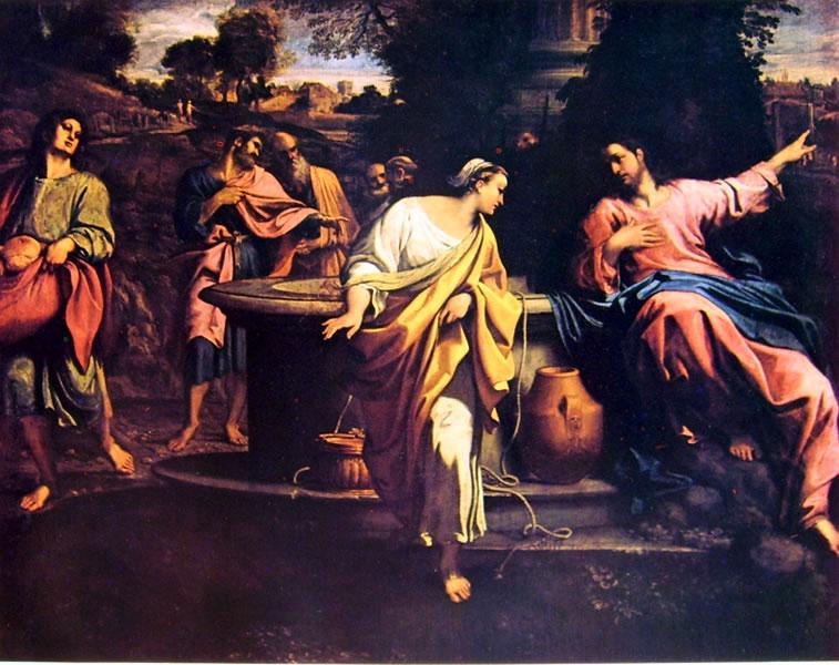 Annibale Carracci: Cristo e la samaritana (Brera)