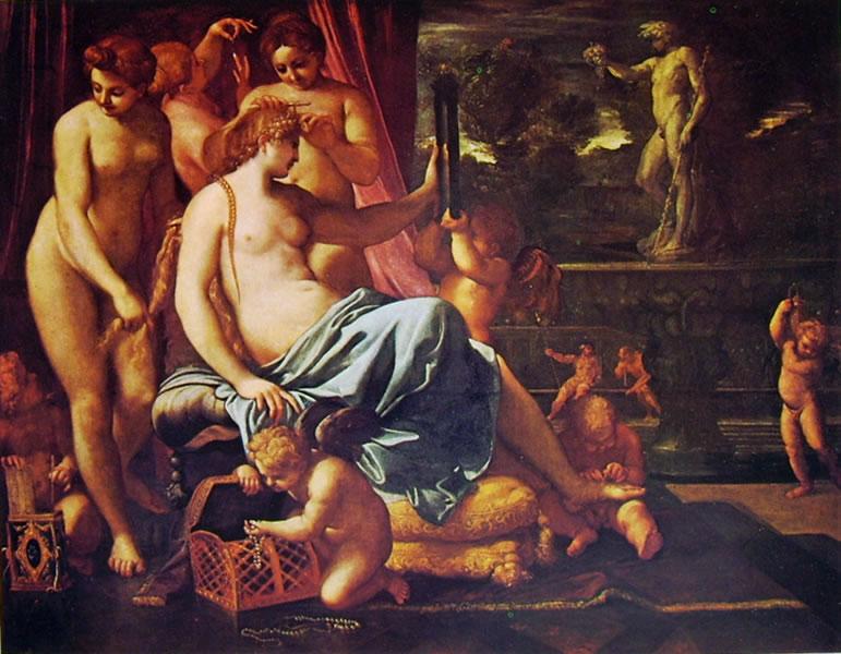 Annibale Carracci: Toeletta di Venere (Kress)