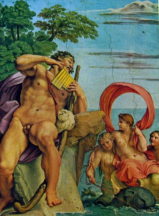 Annibale Carracci: La Galleria Farnese - Polifemo e Galatea