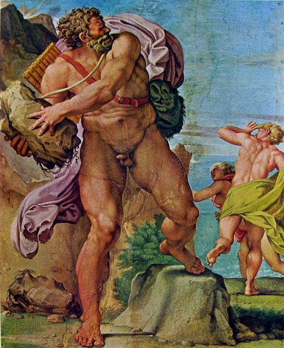 Annibale Carracci: La Galleria Farnese - Polifemo e Aci