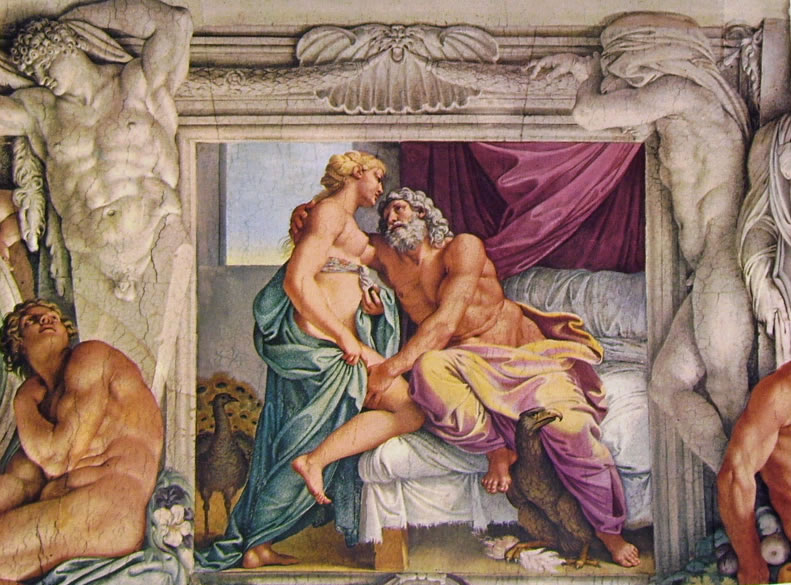 Annibale Carracci: La Galleria Farnese - Giove e Giunone