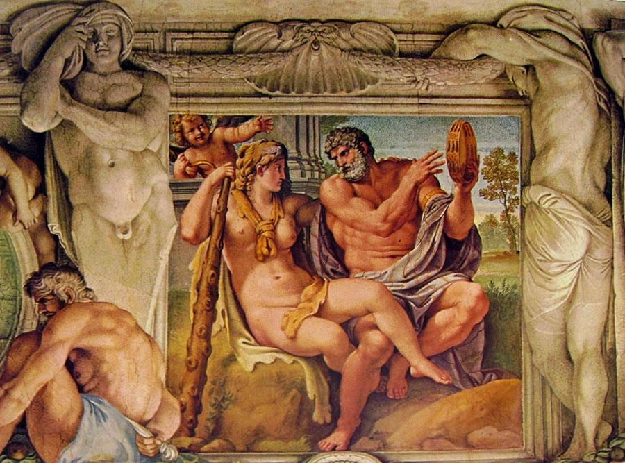 Annibale Carracci:La Galleria Farnese - Ercole e Iole