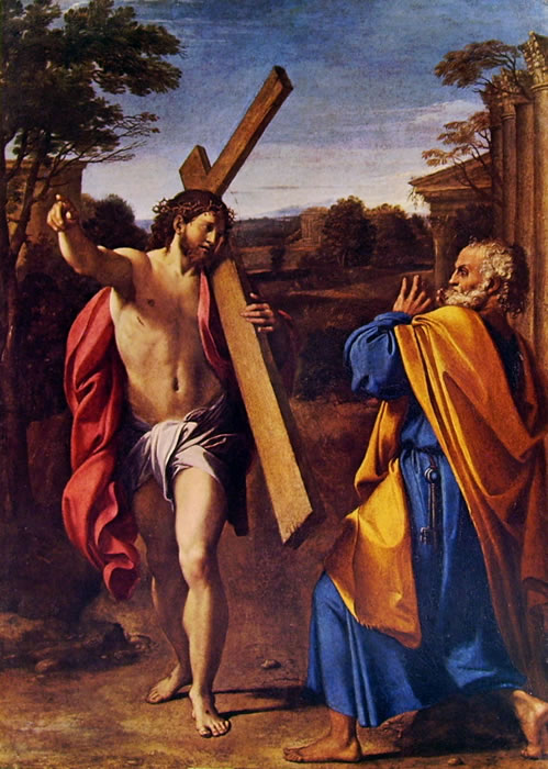 Annibale Carracci: Cristo appare a San Pietro (Londra)