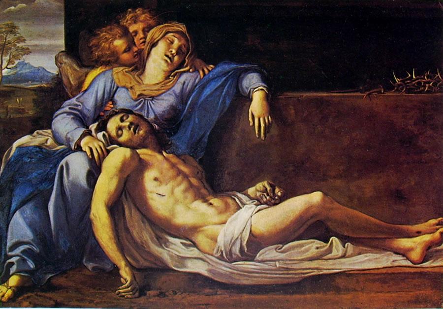 Annibale Carracci: Pietà (Kunsthistorisches Museum)