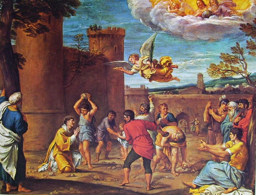 Annibale Carracci: Martirio di Santo Stefano (Louvre)