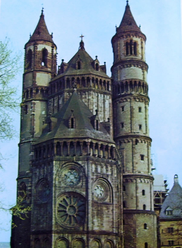 Cattedrale di Worms - Kathedrale Westseite di Worms