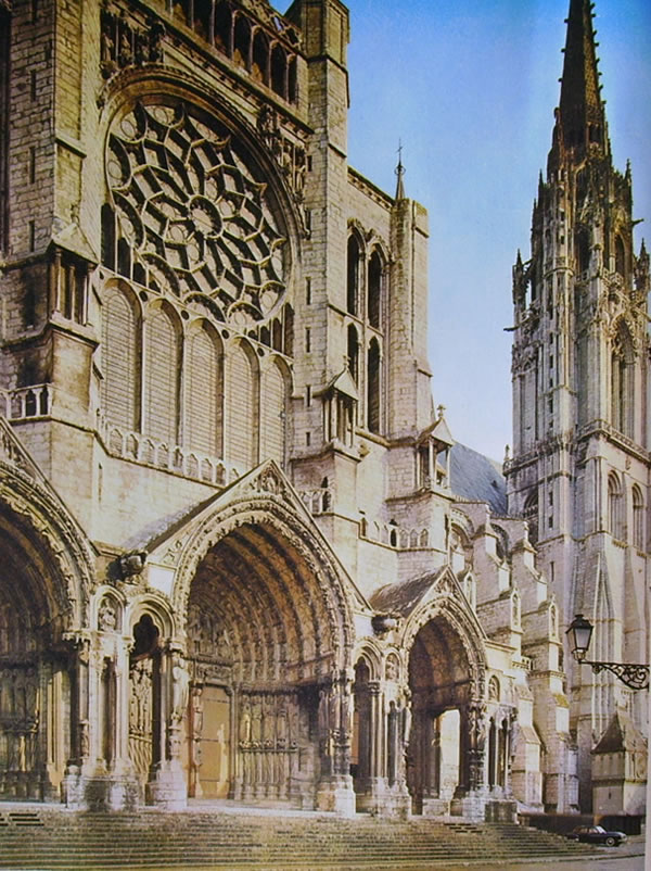 Cathedrale di Chartres