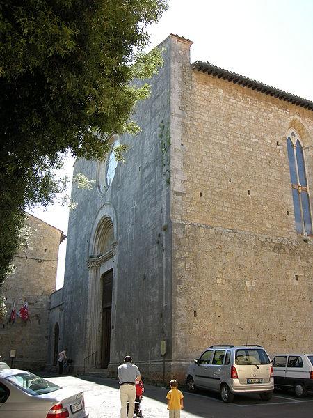 La chiesa di s agostino a massa marittima - Finestre circolari delle chiese gotiche ...