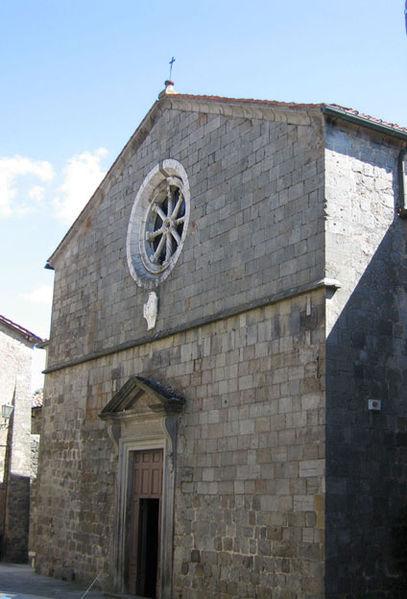 Il Gotico a Santa Fiora: Pieve di S. Fiora - Sante Flora e Lucilla