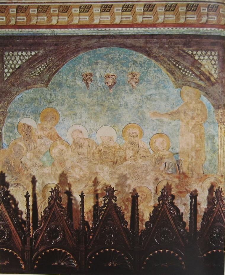 Cimabue: Trapasso della Vergine (Assisi)