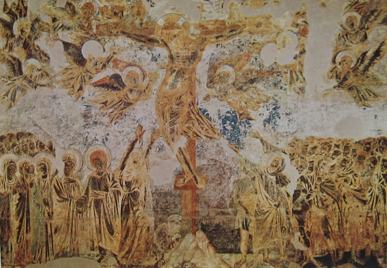 Cimabue: Crocifissione (Assisi)